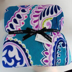 Vera Bradley Throw Blanket New with Tag